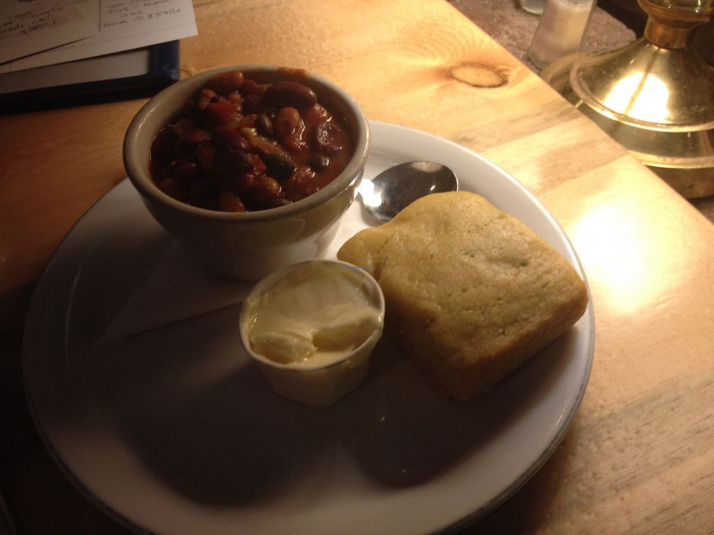 "Photo of Sweet Melissa Cafe  by <a href=""/members/profile/AutumnTierra"">AutumnTierra</a> <br/>Chili and jalapeño cornbread (vegan) <br/> January 26, 2018  - <a href='/contact/abuse/image/2669/350958'>Report</a>"