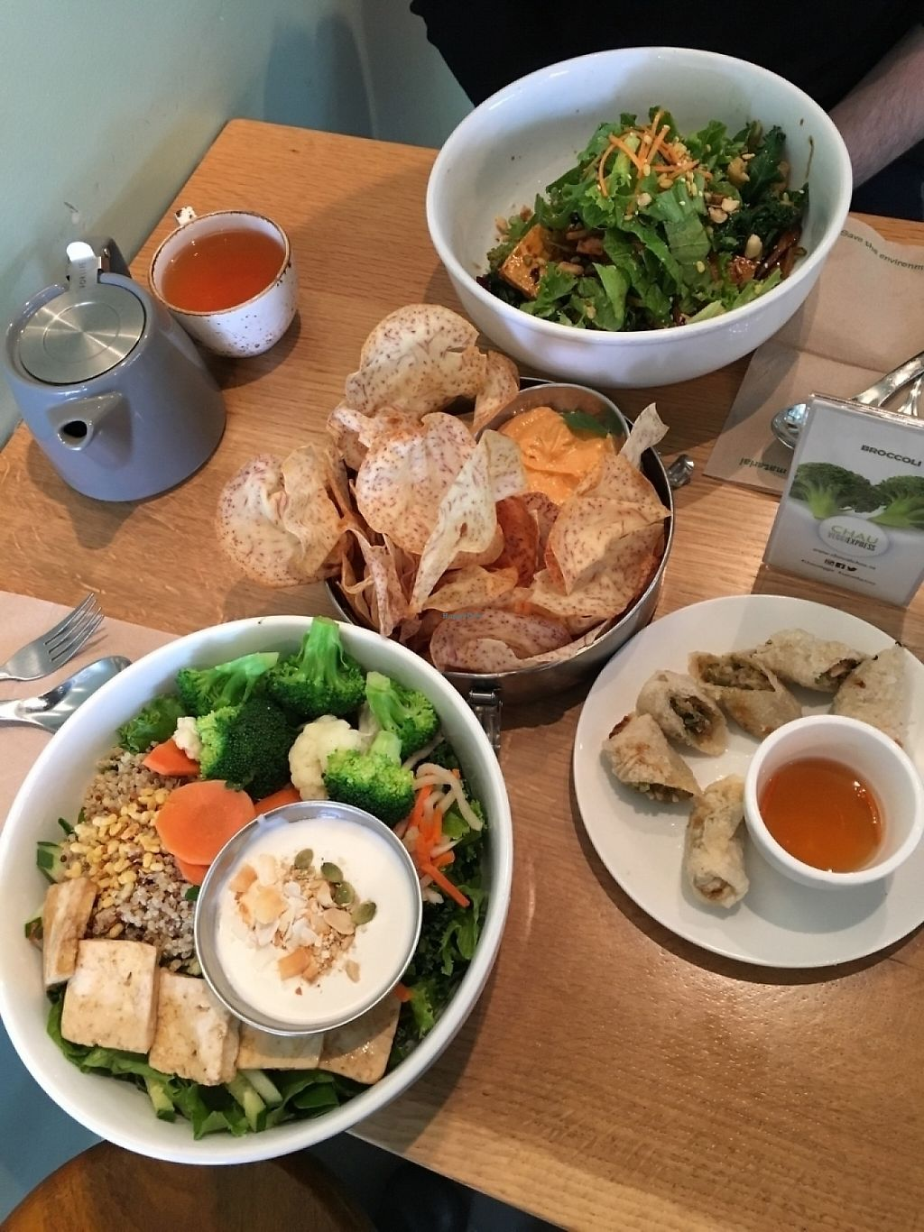 "Photo of Chau VeggiExpress  by <a href=""/members/profile/vegan%20frog"">vegan frog</a> <br/>A delicious vegan meal! <br/> June 8, 2016  - <a href='/contact/abuse/image/26705/230768'>Report</a>"