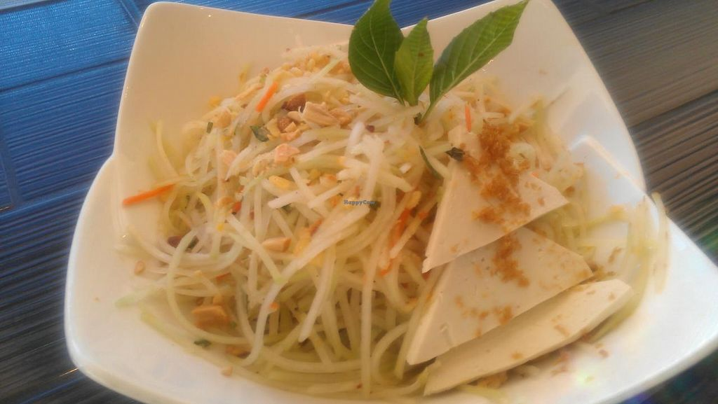 "Photo of Chau VeggiExpress  by <a href=""/members/profile/kenvegan"">kenvegan</a> <br/>Green Papaya Salad <br/> August 10, 2014  - <a href='/contact/abuse/image/26705/76476'>Report</a>"