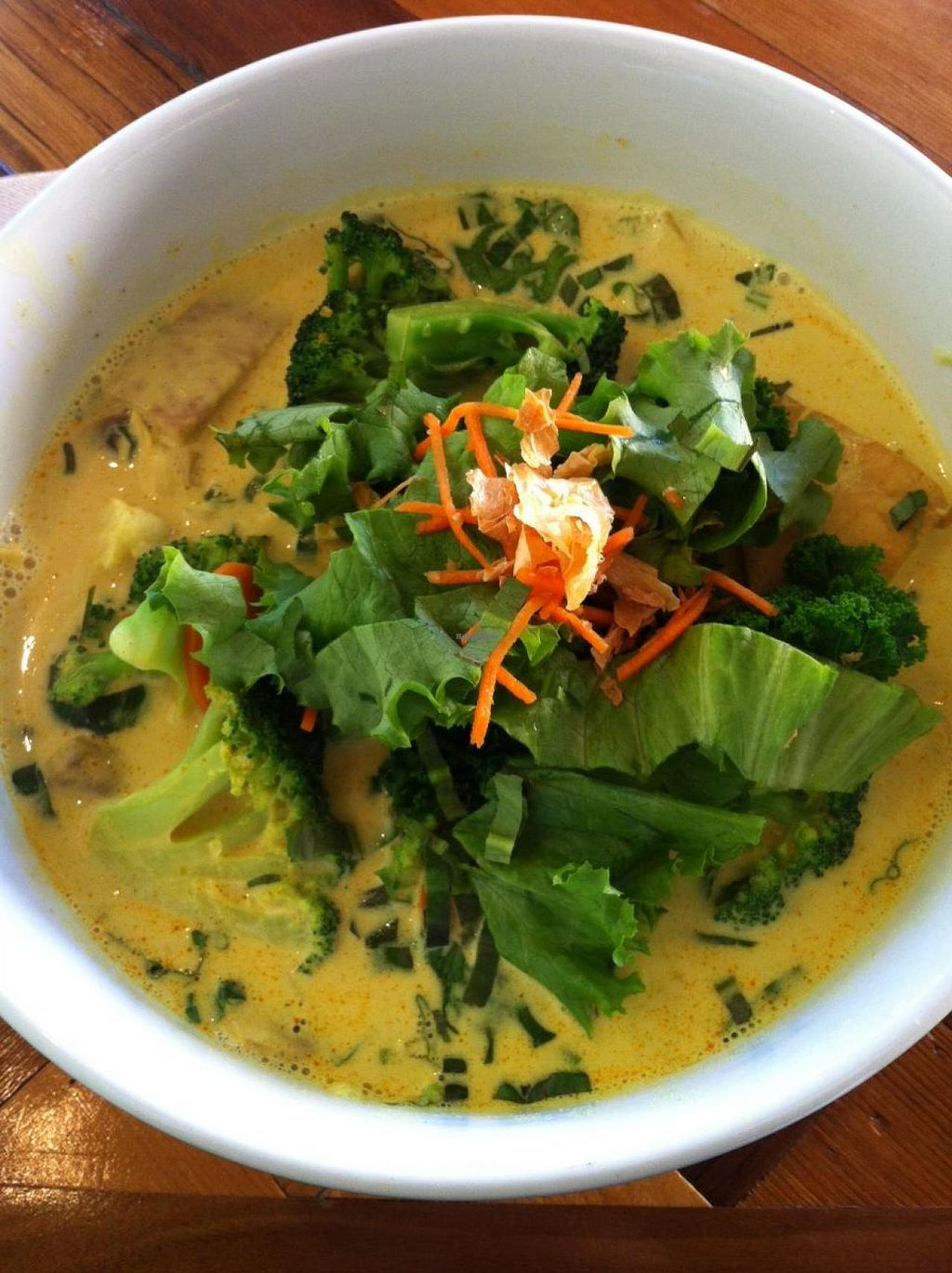 "Photo of Chau VeggiExpress  by <a href=""/members/profile/vegan%20frog"">vegan frog</a> <br/>Coconut curry pho <br/> November 29, 2014  - <a href='/contact/abuse/image/26705/86745'>Report</a>"