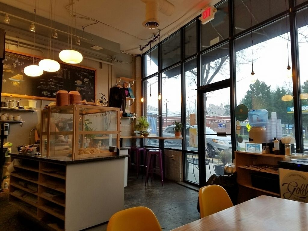 """Photo of Dulce Vegan Bakery and Cafe  by <a href=""""/members/profile/EverydayTastiness"""">EverydayTastiness</a> <br/>inside <br/> February 19, 2017  - <a href='/contact/abuse/image/26735/228190'>Report</a>"""