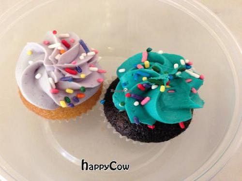 """Photo of The Cupcake Station  by <a href=""""/members/profile/SynthVegan"""">SynthVegan</a> <br/>vegan cupcakes  <br/> November 10, 2012  - <a href='/contact/abuse/image/26741/40107'>Report</a>"""