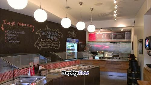 """Photo of CLOSED: Falafill  by <a href=""""/members/profile/mmeghani"""">mmeghani</a> <br/>food bar & menu on right back wall <br/> October 23, 2013  - <a href='/contact/abuse/image/26749/57158'>Report</a>"""