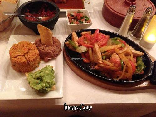 "Photo of El Nuevo Mexicano  by <a href=""/members/profile/SynthVegan"">SynthVegan</a> <br/>vegan Mexican fajitas <br/> February 17, 2013  - <a href='/contact/abuse/image/26760/44326'>Report</a>"