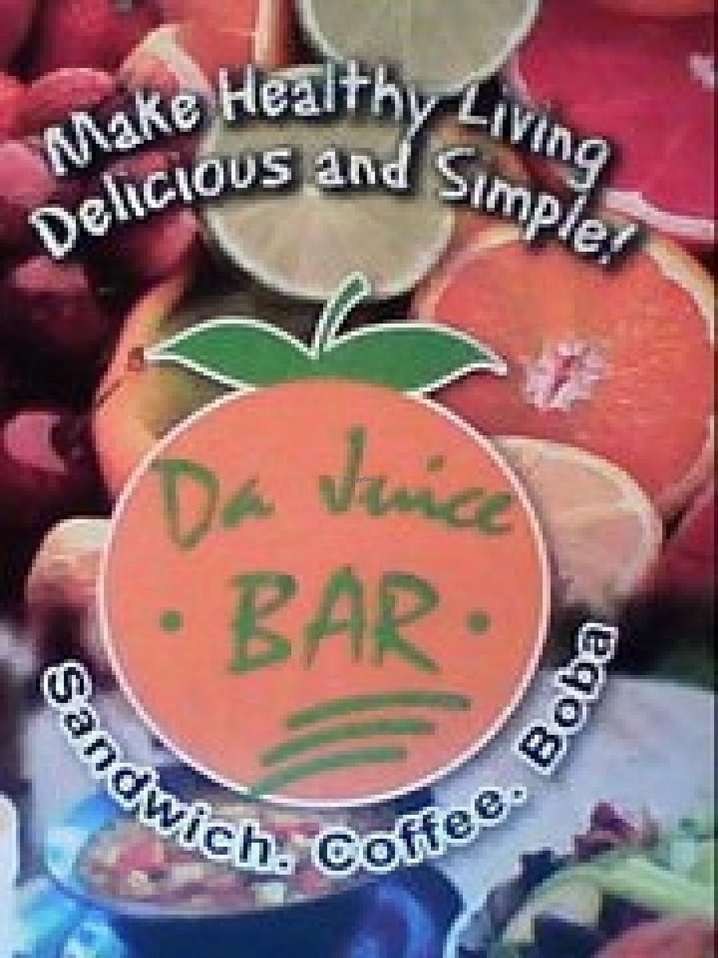 """Photo of Da Juice Bar  by <a href=""""/members/profile/community"""">community</a> <br/>Da Juice Bar  <br/> March 15, 2015  - <a href='/contact/abuse/image/26774/95772'>Report</a>"""