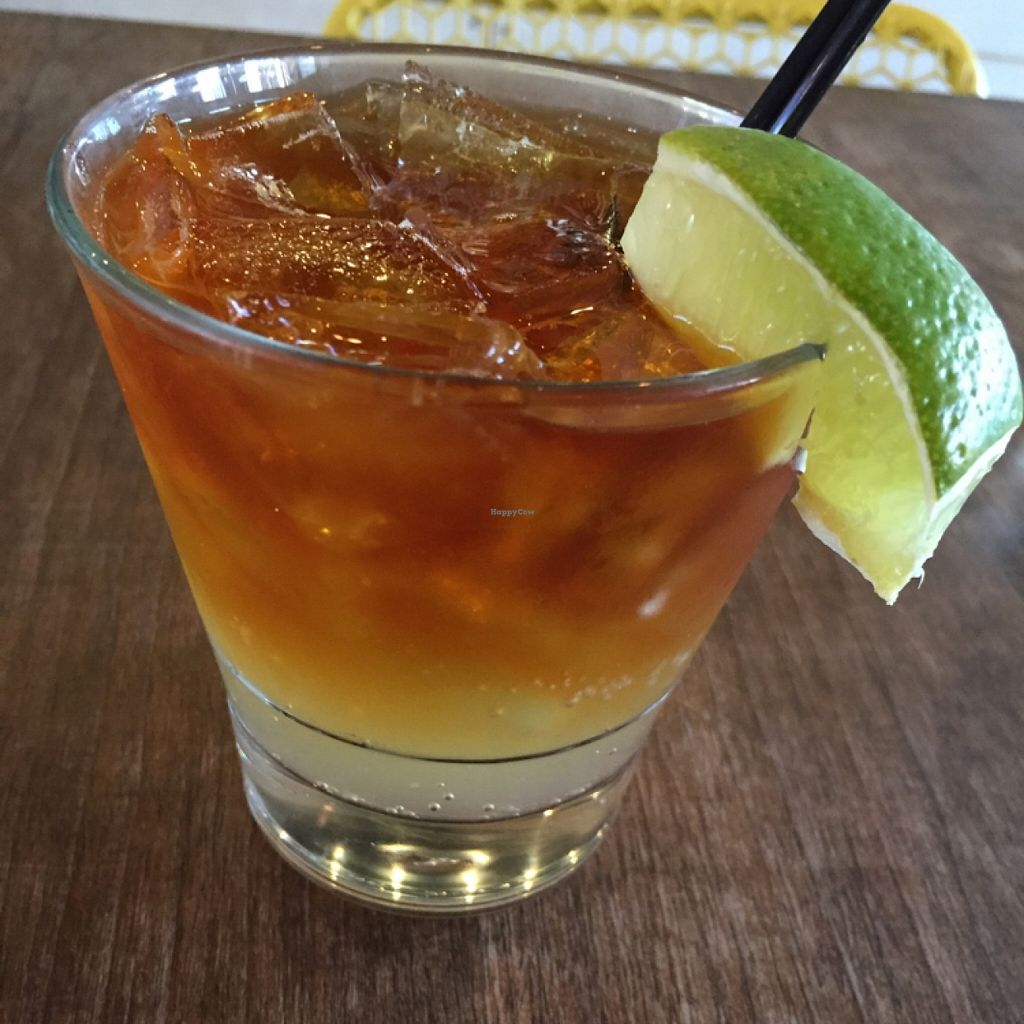 "Photo of The Lunch Room  by <a href=""/members/profile/happycowgirl"">happycowgirl</a> <br/>Dark & Stormy (rum & ginger beer) <br/> November 8, 2015  - <a href='/contact/abuse/image/26797/124305'>Report</a>"