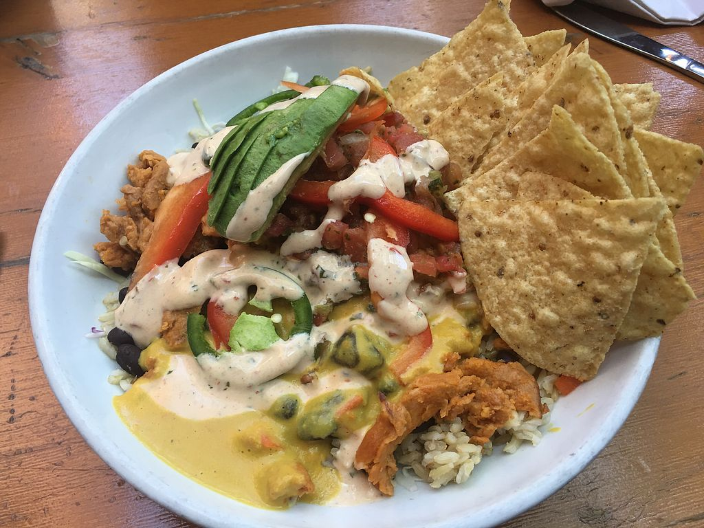 "Photo of The Lunch Room  by <a href=""/members/profile/gwild"">gwild</a> <br/>Queso burrito bowl <br/> July 31, 2017  - <a href='/contact/abuse/image/26797/287197'>Report</a>"