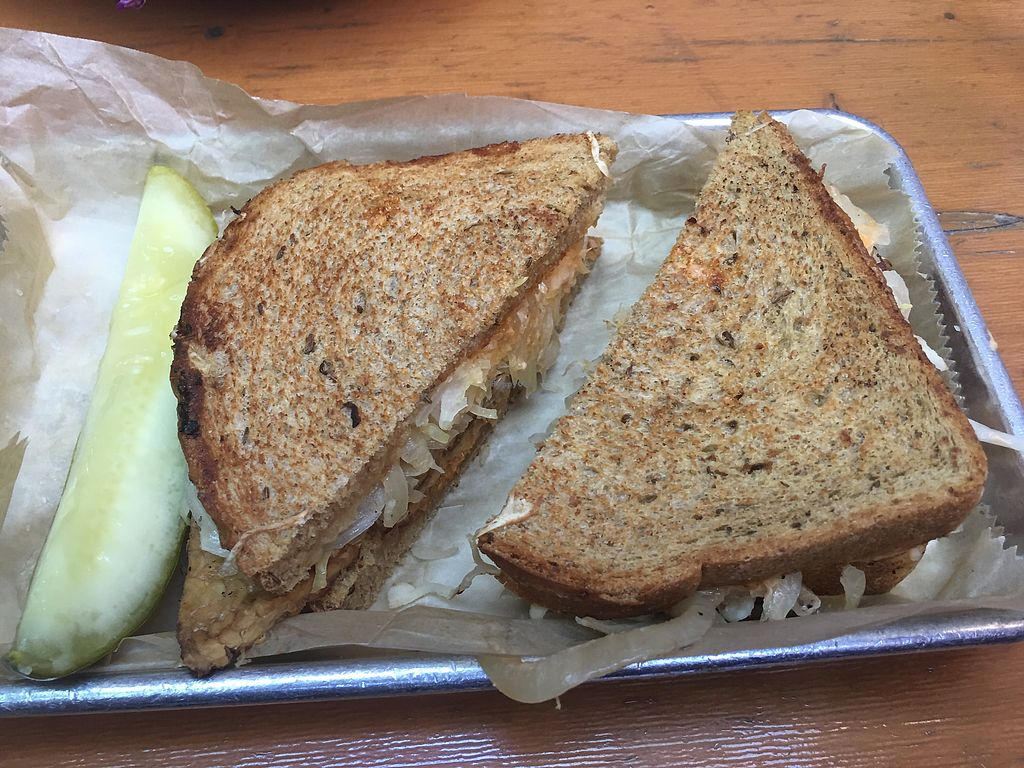 "Photo of The Lunch Room  by <a href=""/members/profile/gwild"">gwild</a> <br/>tempeh Rueben  <br/> July 31, 2017  - <a href='/contact/abuse/image/26797/287199'>Report</a>"