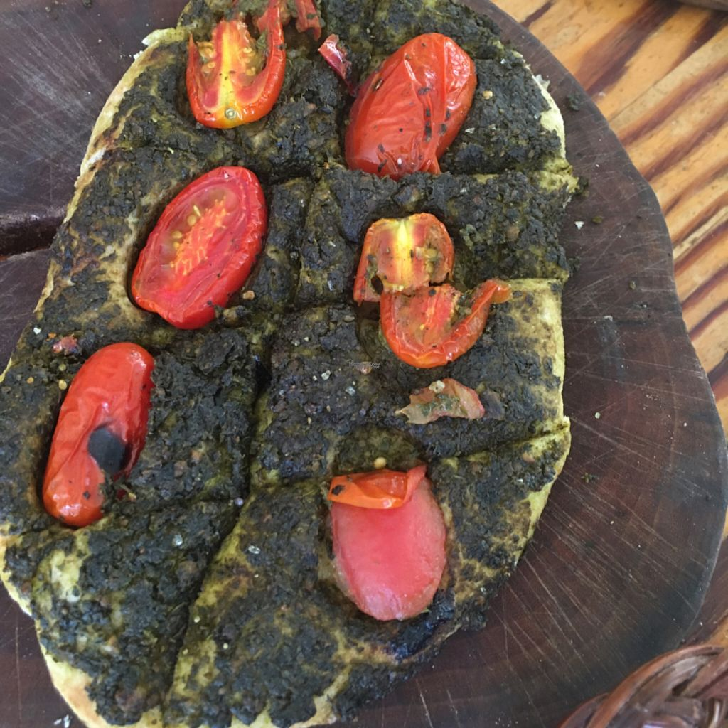 """Photo of Bayit 77  by <a href=""""/members/profile/daroff"""">daroff</a> <br/>vegan pesto focaccia  <br/> August 6, 2016  - <a href='/contact/abuse/image/26799/166392'>Report</a>"""