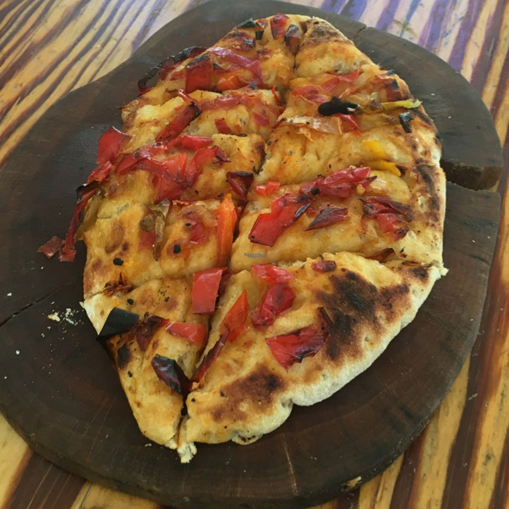 """Photo of Bayit 77  by <a href=""""/members/profile/daroff"""">daroff</a> <br/>pepper vegan focaccia <br/> August 6, 2016  - <a href='/contact/abuse/image/26799/166393'>Report</a>"""