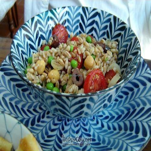 "Photo of CLOSED: Caffe Orientale Tearoom  by <a href=""/members/profile/Joyatri"">Joyatri</a> <br/>Spelt salad <br/> June 4, 2011  - <a href='/contact/abuse/image/26805/9035'>Report</a>"