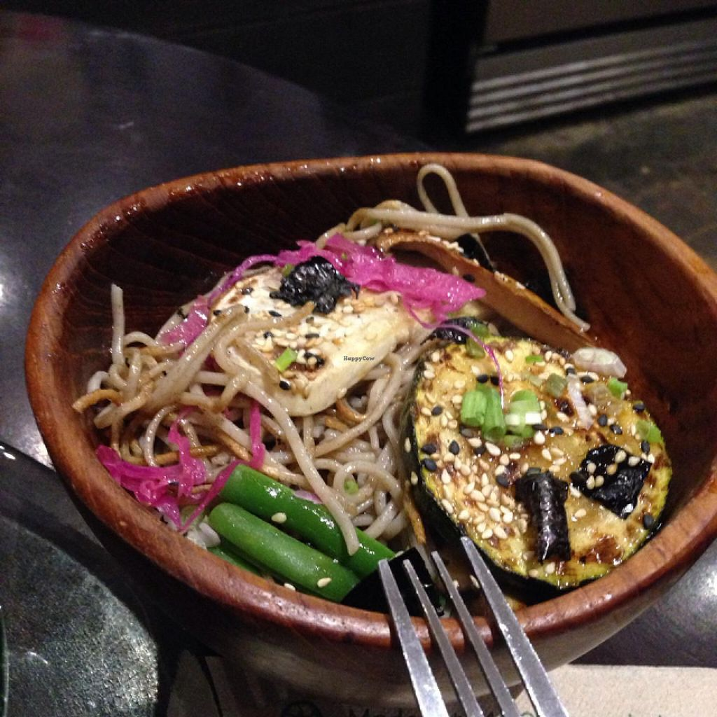 """Photo of Choice Health Bar  by <a href=""""/members/profile/Labylala"""">Labylala</a> <br/>Soba Noodle with Grilles veggies <br/> June 24, 2015  - <a href='/contact/abuse/image/26808/107207'>Report</a>"""