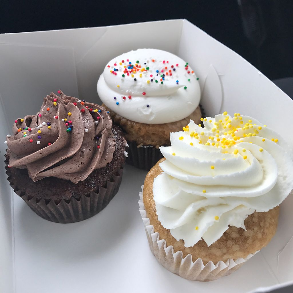 "Photo of Sensitive Sweets  by <a href=""/members/profile/xmrfigx"">xmrfigx</a> <br/>Chocolate, lemon and vanilla cupcakes (red velvet did not make it to the picture) <br/> June 6, 2017  - <a href='/contact/abuse/image/26875/266426'>Report</a>"