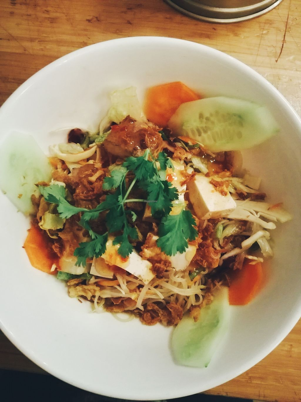 "Photo of LaVietnamita  by <a href=""/members/profile/Mdme.%20Mariais"">Mdme. Mariais</a> <br/>Rice noodles with tofu <br/> November 29, 2017  - <a href='/contact/abuse/image/26877/330600'>Report</a>"