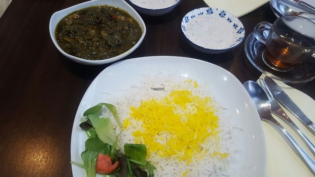 "Photo of Kardamom  by <a href=""/members/profile/loveforveganfood"">loveforveganfood</a> <br/>typical Iranian food <br/> December 19, 2016  - <a href='/contact/abuse/image/26883/203064'>Report</a>"