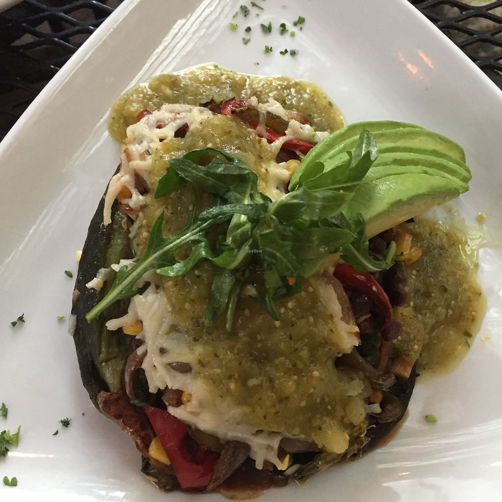"""Photo of Secret Garden Cafe  by <a href=""""/members/profile/plantbaseddfw"""">plantbaseddfw</a> <br/>The Chile Relleno <br/> April 1, 2018  - <a href='/contact/abuse/image/26898/379442'>Report</a>"""
