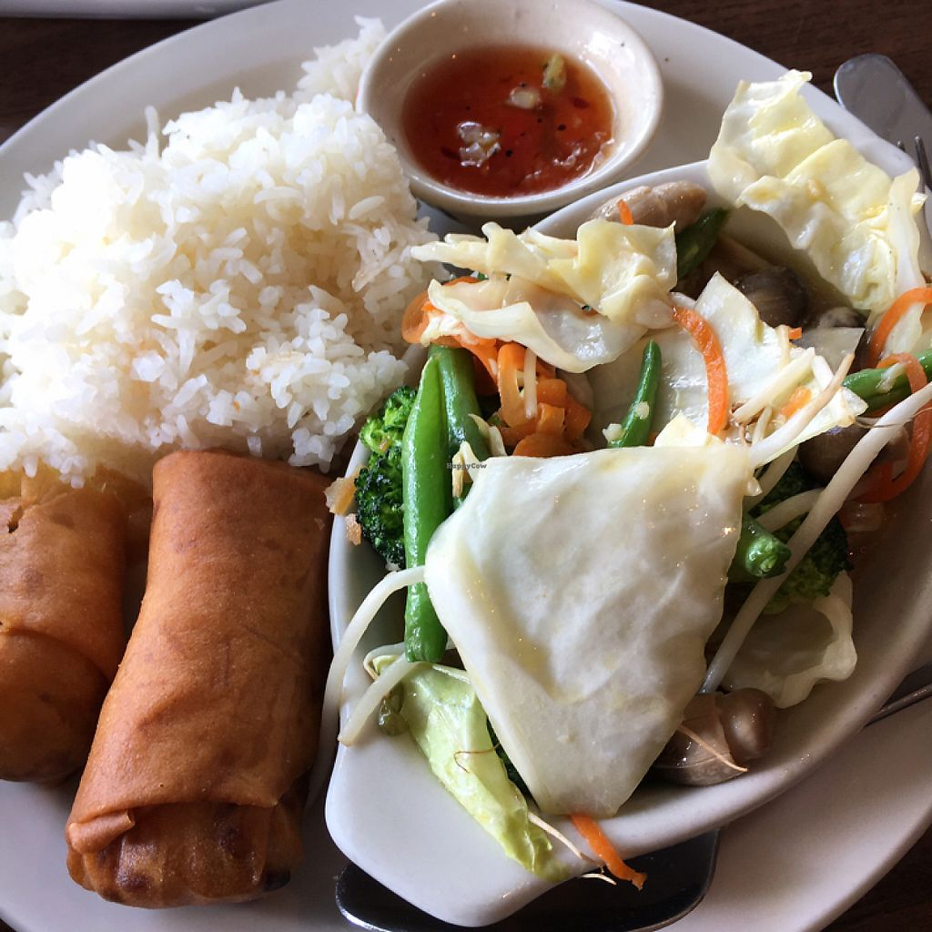 """Photo of Bon Appe Thai  by <a href=""""/members/profile/KWdaddio"""">KWdaddio</a> <br/>Lunch Special Mixed Vegetables <br/> May 20, 2017  - <a href='/contact/abuse/image/26927/260692'>Report</a>"""