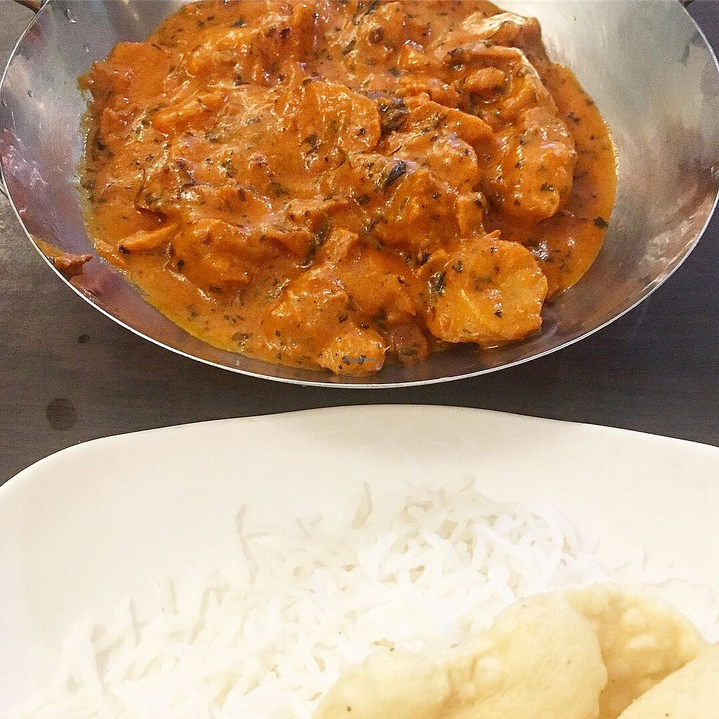 """Photo of Gokul Vegetarian Restaurant and Cafe- Fortune Centre  by <a href=""""/members/profile/ChenHongwen"""">ChenHongwen</a> <br/>Butter Chicken Masala, no butter, no chicken, no problem! <br/> March 30, 2018  - <a href='/contact/abuse/image/26929/378225'>Report</a>"""