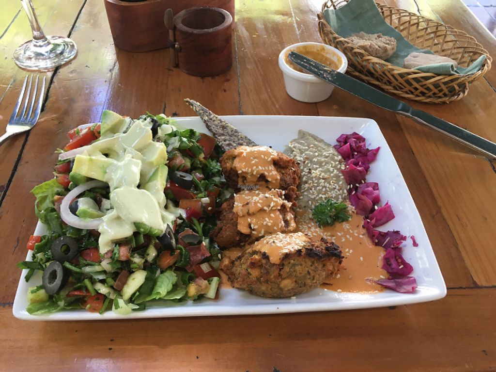 "Photo of El Huerto  by <a href=""/members/profile/muopaulin"">muopaulin</a> <br/>falafel platter  <br/> November 9, 2016  - <a href='/contact/abuse/image/2693/188031'>Report</a>"
