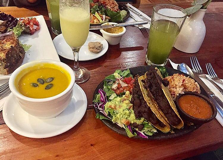 "Photo of El Huerto  by <a href=""/members/profile/CamilaSilvaL"">CamilaSilvaL</a> <br/>Chicana vegana and pumpkin soup <br/> February 5, 2018  - <a href='/contact/abuse/image/2693/355198'>Report</a>"