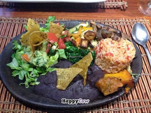 "Photo of El Huerto  by <a href=""/members/profile/Phonique"">Phonique</a> <br/>the vegan Mexican plate <br/> August 13, 2013  - <a href='/contact/abuse/image/2693/53212'>Report</a>"