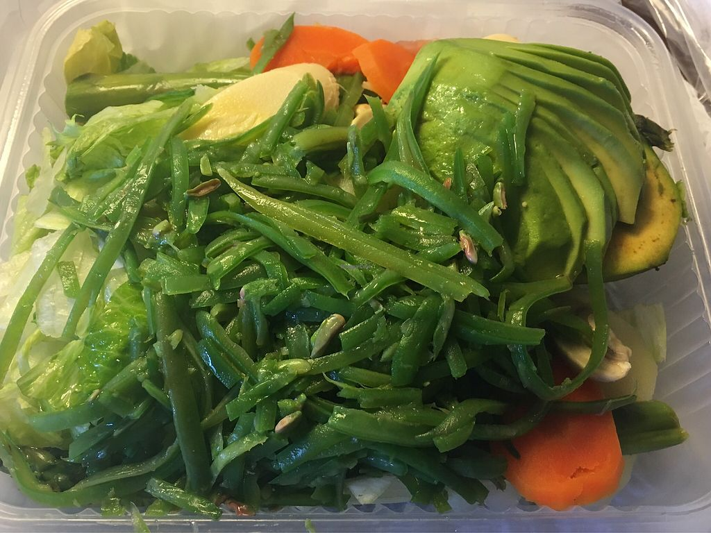 """Photo of El Naturista - Moneda  by <a href=""""/members/profile/AimeeS"""">AimeeS</a> <br/>The largest salad on menu (w/no cheese or egg) <br/> November 27, 2017  - <a href='/contact/abuse/image/2694/329882'>Report</a>"""