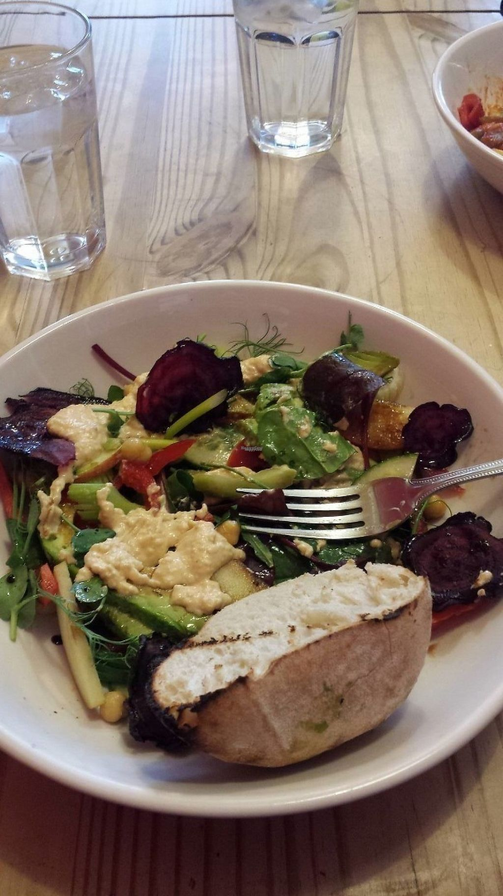 """Photo of The Beached Lamb Cafe  by <a href=""""/members/profile/HannahAtkinson"""">HannahAtkinson</a> <br/>Vegan super salad <br/> November 20, 2016  - <a href='/contact/abuse/image/26982/192518'>Report</a>"""