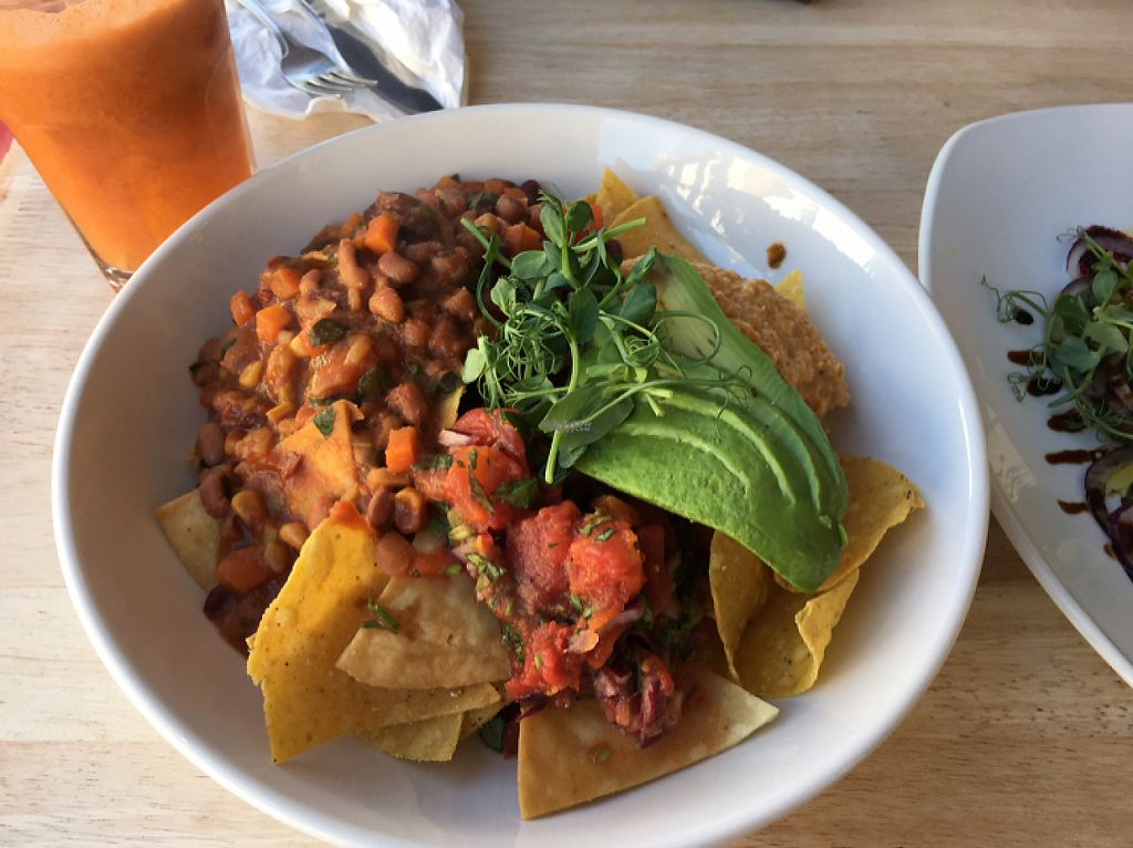 """Photo of The Beached Lamb Cafe  by <a href=""""/members/profile/Claire.waine"""">Claire.waine</a> <br/>vegan nachos with homemade chilli! was banging! <br/> December 11, 2016  - <a href='/contact/abuse/image/26982/199425'>Report</a>"""