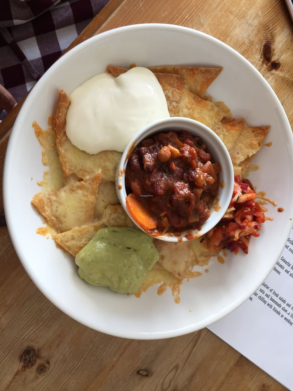 """Photo of The Beached Lamb Cafe  by <a href=""""/members/profile/Ashni"""">Ashni</a> <br/>Vegetarian nachos with beans <br/> July 9, 2017  - <a href='/contact/abuse/image/26982/278228'>Report</a>"""