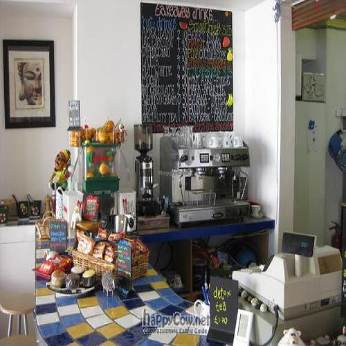 """Photo of The Beached Lamb Cafe  by <a href=""""/members/profile/Niknak356"""">Niknak356</a> <br/>Coffee HQ, Farmer 30 Blend from Origin Coffee ensures that the farmer gets 30% of the profit. This is world class coffee!  <br/> June 8, 2011  - <a href='/contact/abuse/image/26982/9112'>Report</a>"""