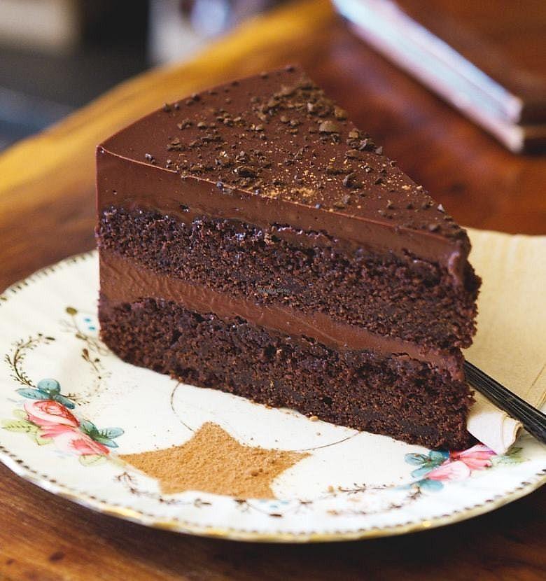 "Photo of The Chocolate Tree  by <a href=""/members/profile/EmmaFaeEdinburgh"">EmmaFaeEdinburgh</a> <br/>Vegan chocolate coffee cake <br/> February 18, 2018  - <a href='/contact/abuse/image/27002/360978'>Report</a>"