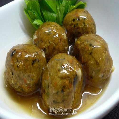 """Photo of Vegan Macrobiotics by Chef Alice  by <a href=""""/members/profile/alicety"""">alicety</a> <br/>Baked Okara Balls in Sweet & Sour Garlic-Ginger Sauce <br/> June 27, 2011  - <a href='/contact/abuse/image/27004/9445'>Report</a>"""