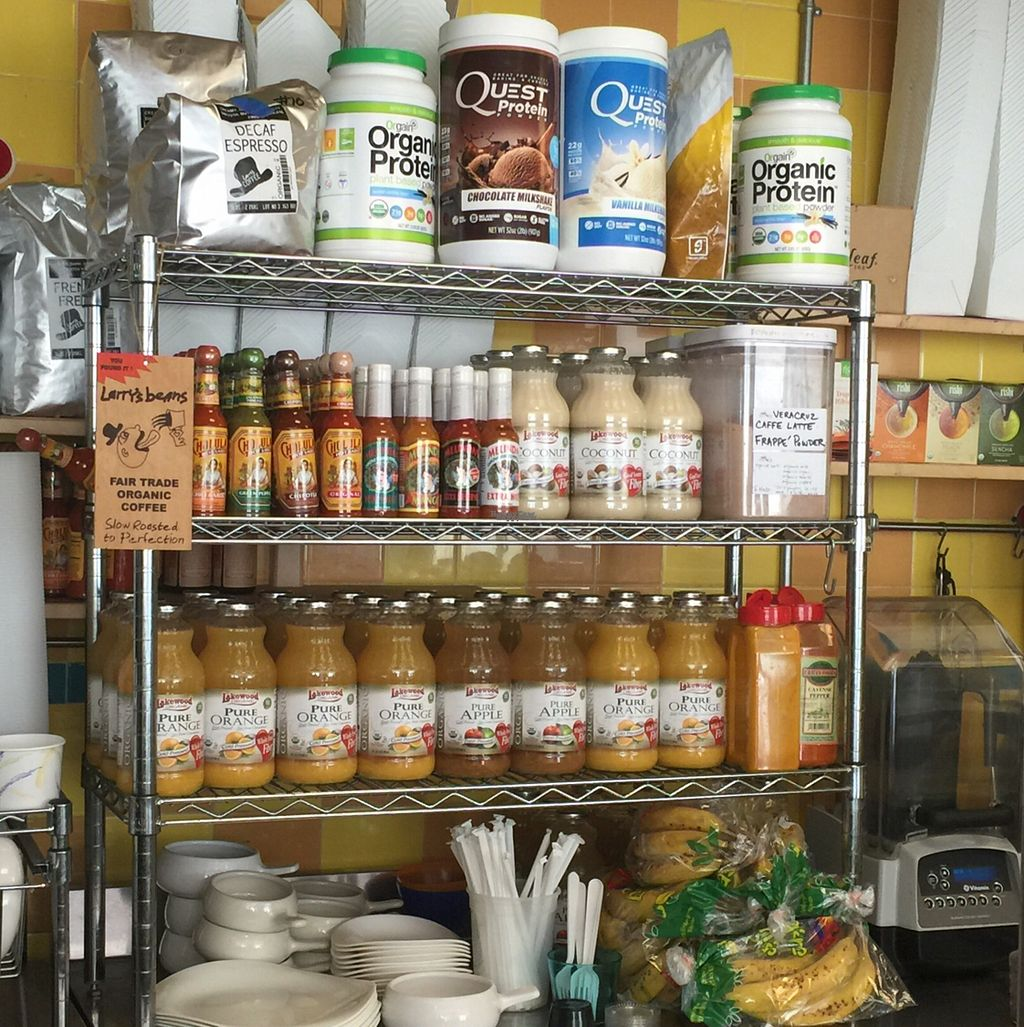 """Photo of True Food  by <a href=""""/members/profile/TheVeganSix"""">TheVeganSix</a> <br/>Behind the Counter <br/> September 17, 2016  - <a href='/contact/abuse/image/27006/176392'>Report</a>"""