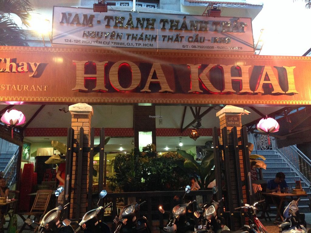 "Photo of Hoa Khai Vegetarian Restaurant  by <a href=""/members/profile/Stevie"">Stevie</a> <br/>4 <br/> September 25, 2015  - <a href='/contact/abuse/image/27015/119080'>Report</a>"