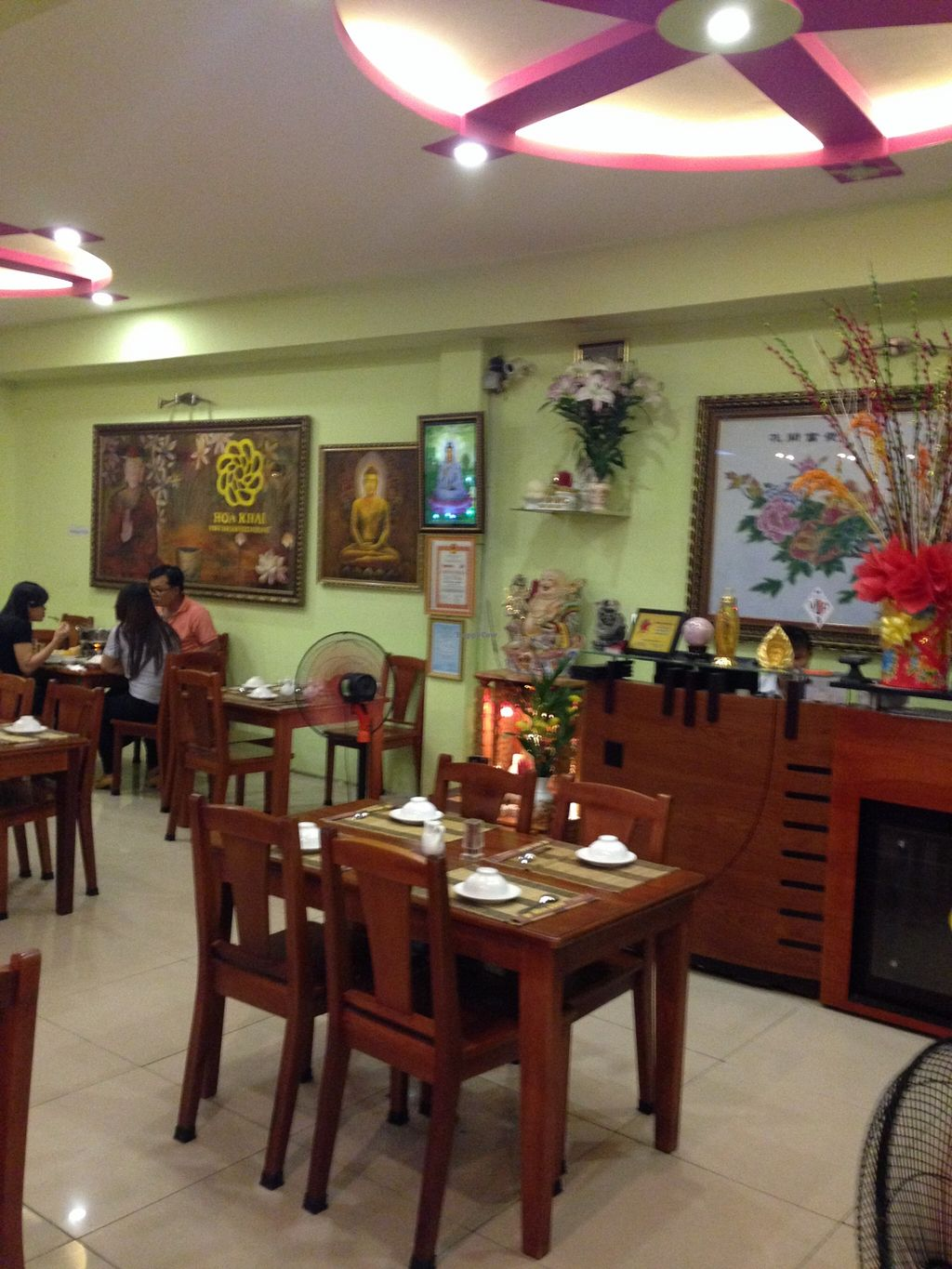 "Photo of Hoa Khai Vegetarian Restaurant  by <a href=""/members/profile/Stevie"">Stevie</a> <br/>6 <br/> September 25, 2015  - <a href='/contact/abuse/image/27015/119082'>Report</a>"