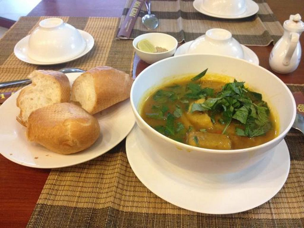 "Photo of Hoa Khai Vegetarian Restaurant  by <a href=""/members/profile/Kimxula"">Kimxula</a> <br/>Indian curry <br/> October 14, 2014  - <a href='/contact/abuse/image/27015/82908'>Report</a>"