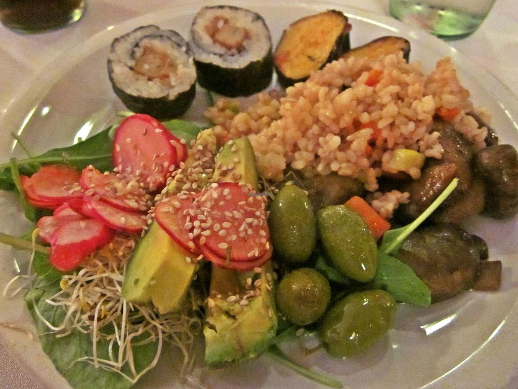 """Photo of Spring Restaurante Vegetariano - Capital Federal  by <a href=""""/members/profile/Maddita"""">Maddita</a> <br/>What I could find that was vegan <br/> February 8, 2014  - <a href='/contact/abuse/image/27042/63944'>Report</a>"""