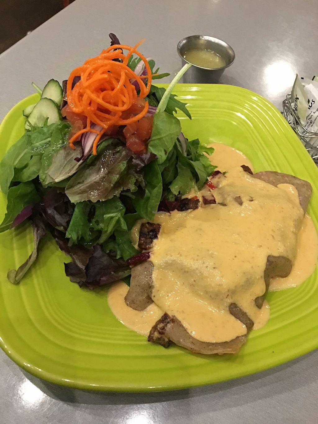 "Photo of Lotus Leaf Cafe  by <a href=""/members/profile/TEE427"">TEE427</a> <br/>Beet and black bean crepe it was Delicious!!! <br/> December 21, 2017  - <a href='/contact/abuse/image/27044/337665'>Report</a>"