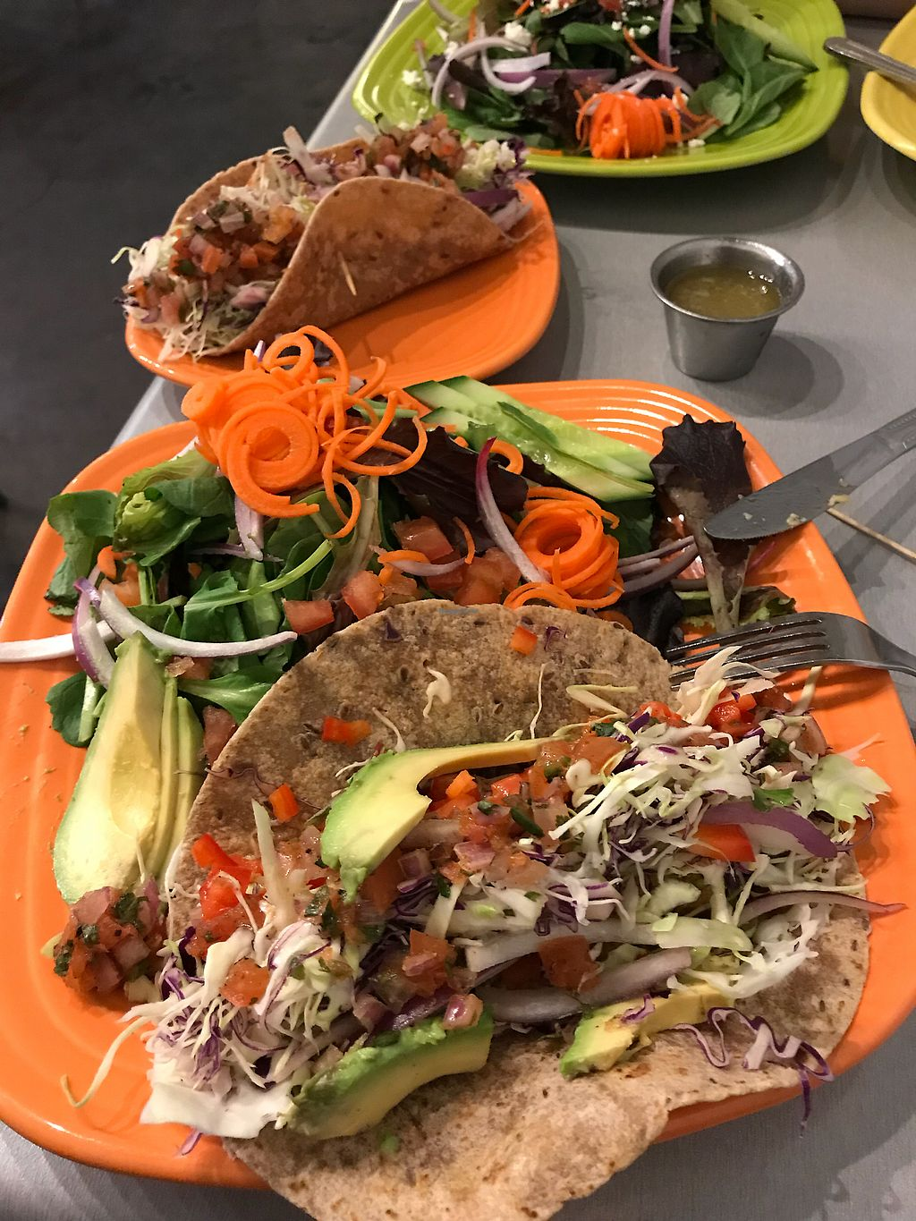 "Photo of Lotus Leaf Cafe  by <a href=""/members/profile/JohnM."">JohnM.</a> <br/>Tacos  <br/> February 3, 2018  - <a href='/contact/abuse/image/27044/354595'>Report</a>"