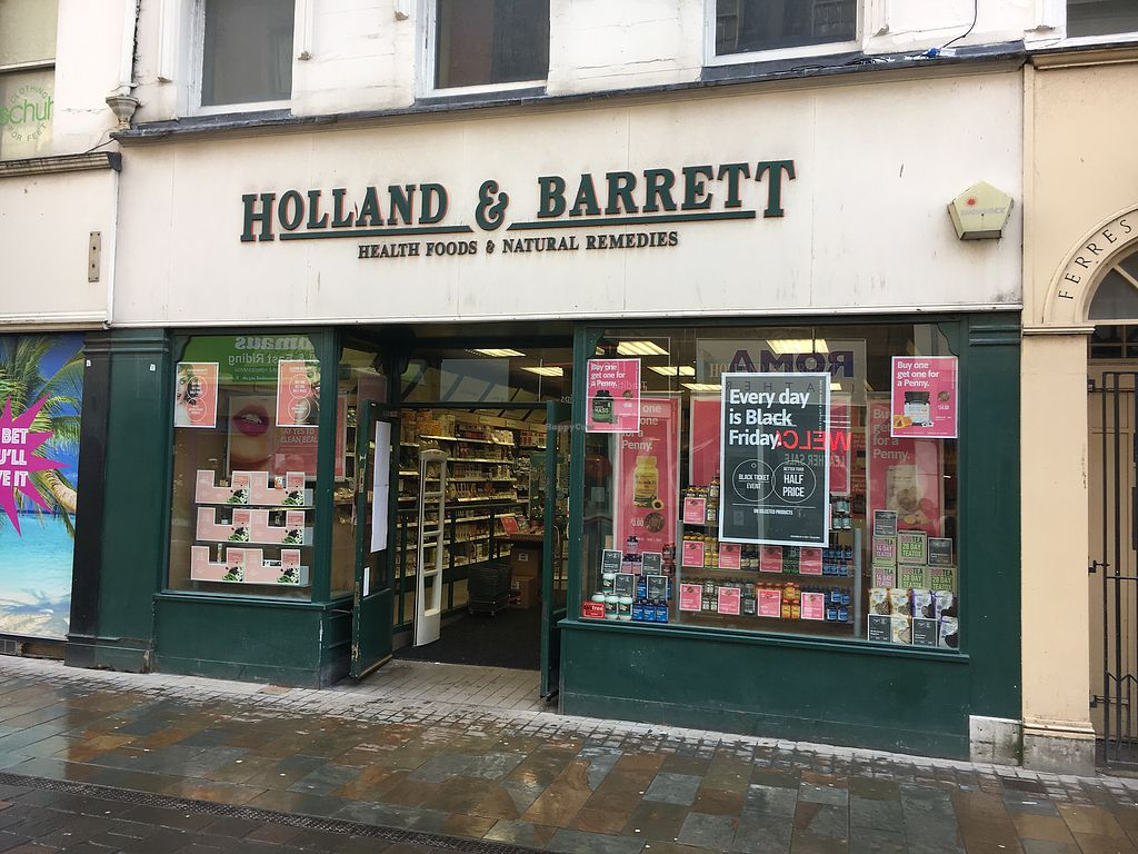 "Photo of Holland and Barrett  by <a href=""/members/profile/hack_man"">hack_man</a> <br/>Exterior  <br/> November 18, 2017  - <a href='/contact/abuse/image/27052/326789'>Report</a>"