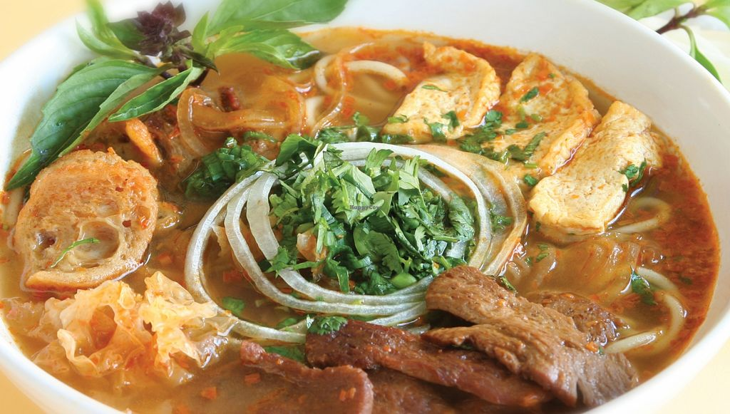 """Photo of Loving Hut - Sunset District  by <a href=""""/members/profile/Loving%20Hut%20-%20Sunset"""">Loving Hut - Sunset</a> <br/>Spicy Noodle Soup <br/> February 9, 2016  - <a href='/contact/abuse/image/27072/135660'>Report</a>"""