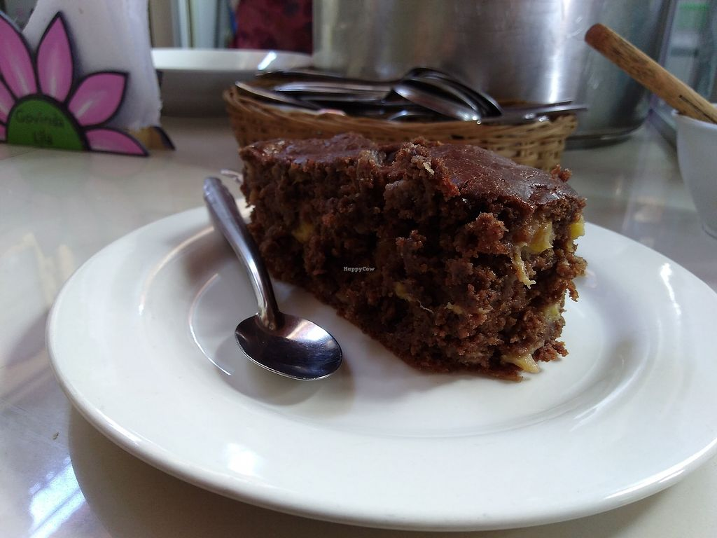"""Photo of Govinda Lila  by <a href=""""/members/profile/emzie1983"""">emzie1983</a> <br/>Choc and banana cake, still gooey from the oven!! <br/> April 13, 2018  - <a href='/contact/abuse/image/2710/385169'>Report</a>"""