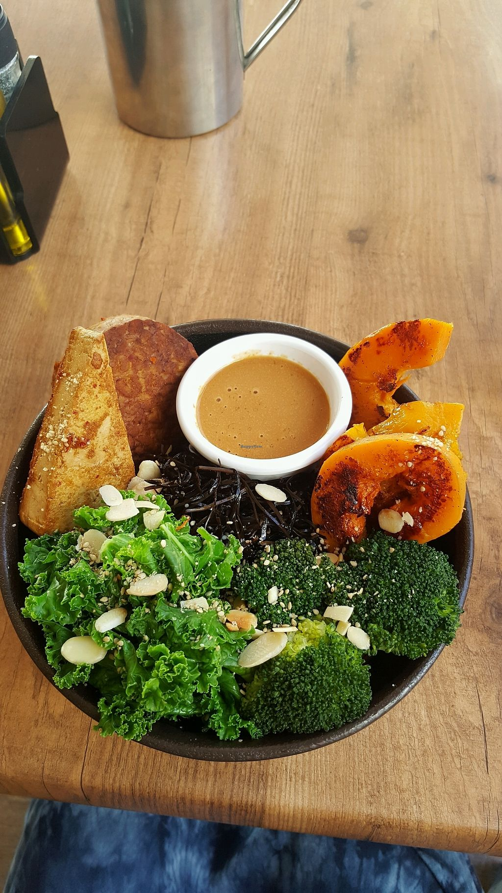 """Photo of Passion Cafe Playa den Bossa  by <a href=""""/members/profile/Clare"""">Clare</a> <br/>Tofu, Sweet Potato,Tempeh grain bowl <br/> September 19, 2017  - <a href='/contact/abuse/image/27124/306079'>Report</a>"""