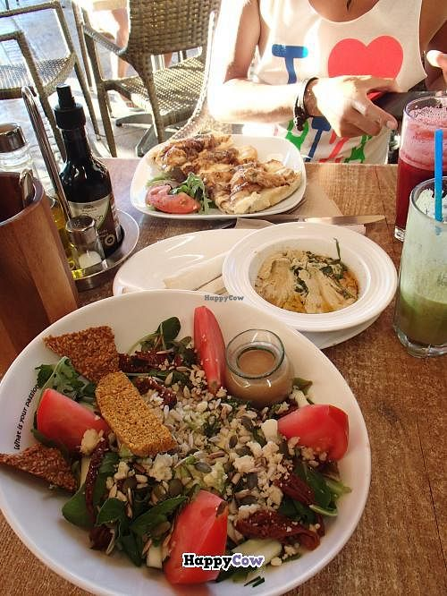 """Photo of Passion Cafe Playa den Bossa  by <a href=""""/members/profile/cocoholic"""">cocoholic</a> <br/>Truely Raw Salad <br/> August 16, 2013  - <a href='/contact/abuse/image/27124/53359'>Report</a>"""