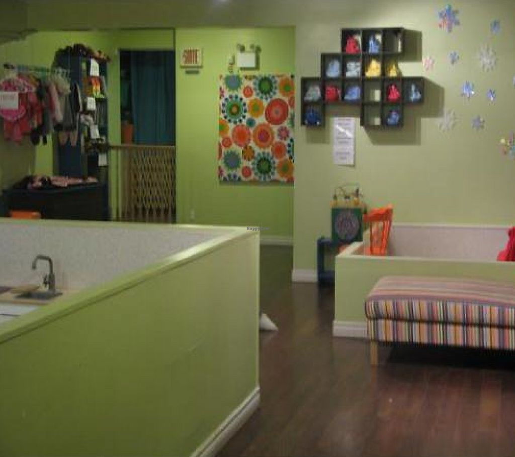"""Photo of CLOSED: La Tasse Gamine  by <a href=""""/members/profile/raphalla"""">raphalla</a> <br/>The sofa/ book reading areas for the bigger kids or mother with smaller baby <br/> December 18, 2011  - <a href='/contact/abuse/image/27161/199547'>Report</a>"""