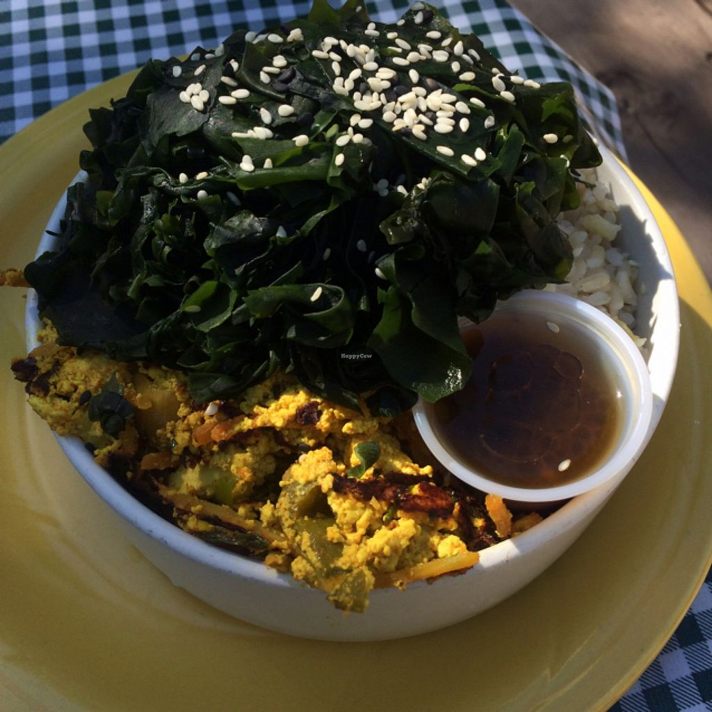 "Photo of Eklecticafe  by <a href=""/members/profile/DNice88"">DNice88</a> <br/>tofu scramble w/ rice & seaweed  <br/> May 11, 2016  - <a href='/contact/abuse/image/27163/148554'>Report</a>"