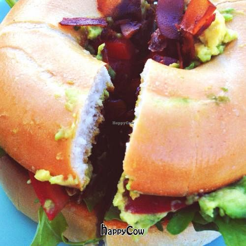 """Photo of New Day Rising  by <a href=""""/members/profile/VeganGirls"""">VeganGirls</a> <br/>Vegan BLT with divine coconut bacon <br/> March 25, 2013  - <a href='/contact/abuse/image/27181/46006'>Report</a>"""