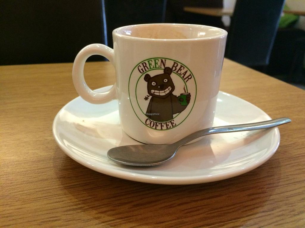 """Photo of Green Bear Coffee - Glandeves  by <a href=""""/members/profile/LisaCupcake"""">LisaCupcake</a> <br/>Cute coffee cup <br/> June 26, 2015  - <a href='/contact/abuse/image/27183/107328'>Report</a>"""