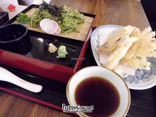 "Photo of Herbivore Japanese Vegetarian Restaurant  by <a href=""/members/profile/Peace%20..."">Peace ...</a> <br/>Tempura Cha Soba @ S$18+ <br/> May 21, 2012  - <a href='/contact/abuse/image/27184/32034'>Report</a>"