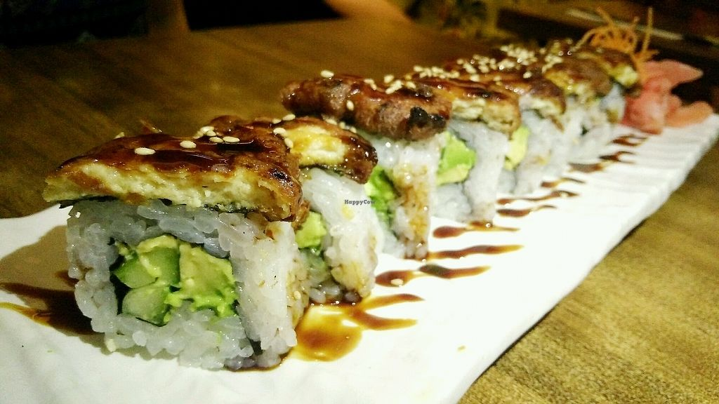 "Photo of Herbivore Japanese Vegetarian Restaurant  by <a href=""/members/profile/ryzajake"">ryzajake</a> <br/>Unagi Rolls <br/> February 15, 2018  - <a href='/contact/abuse/image/27184/359691'>Report</a>"